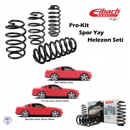 Chevrolet Cruze I 2008-2014 Spor Yay Helezon Eibach Pro-Kit Ön 30, Arka 30mm